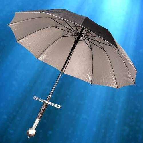 Picture of Knightly Sword Hilted Umbrella