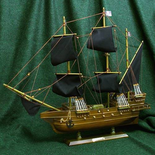Picture of Hand made Wooden Pirate Ship