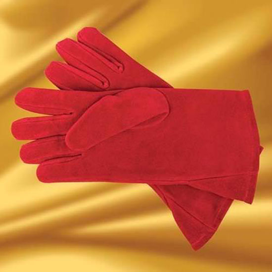 Picture of Suede Gauntlets, Red