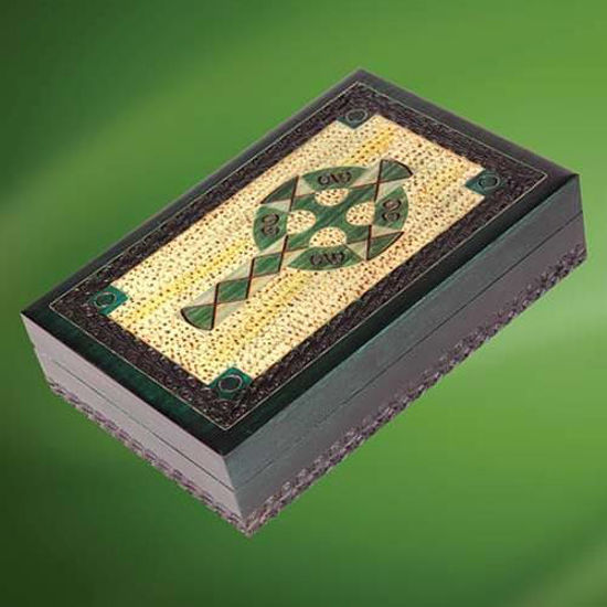 Picture of Celtic Wooden Box