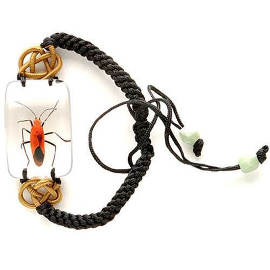 Picture of Insect Art Red Bug Bracelet