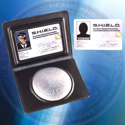 Picture of Nick Fury ID Set