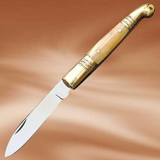Picture of Old Fashioned Polished Bone Folder