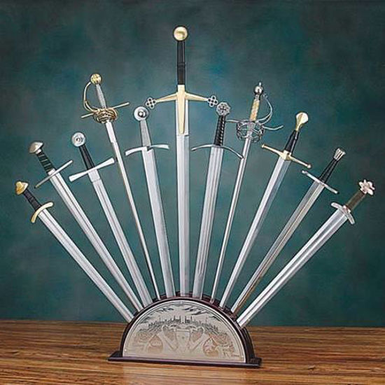 Picture of Deluxe Sunburst Sword Stand