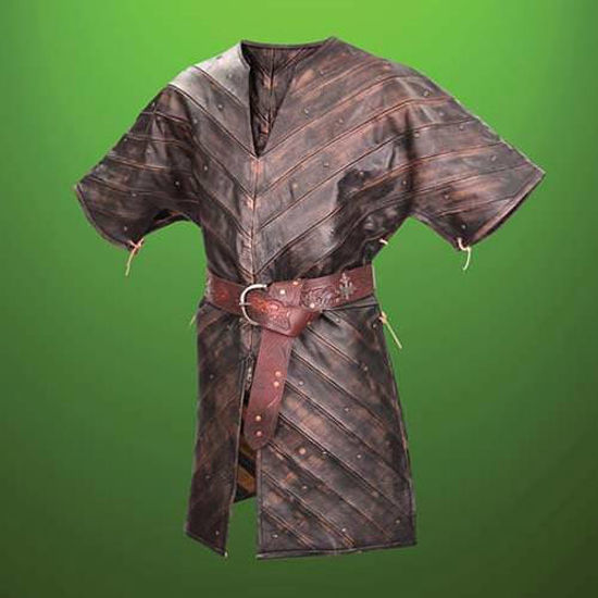 Picture of Leather Infantry Gambeson