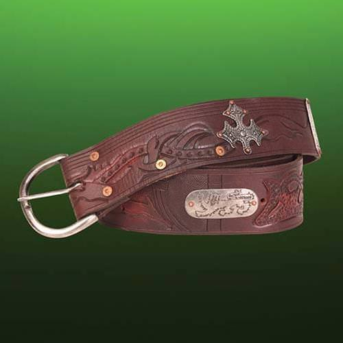 Picture of Outlaw Wide Leather Belt