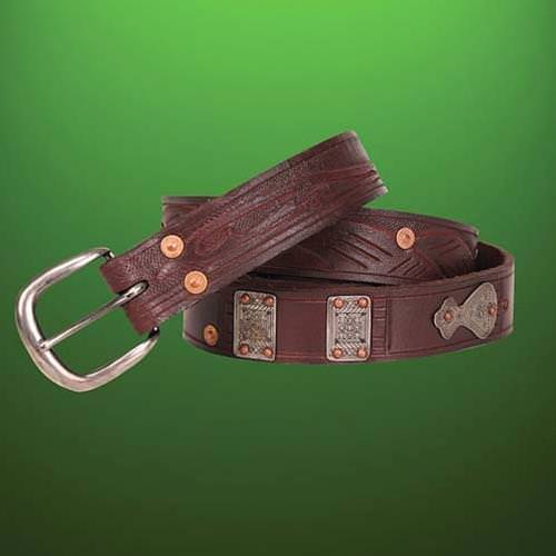 Picture of Outlaw Thin Leather Belt