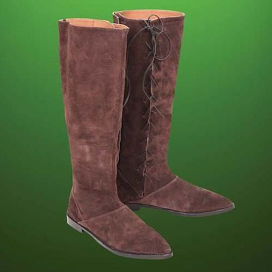 Picture of Robin Hood Tall Suede Boots