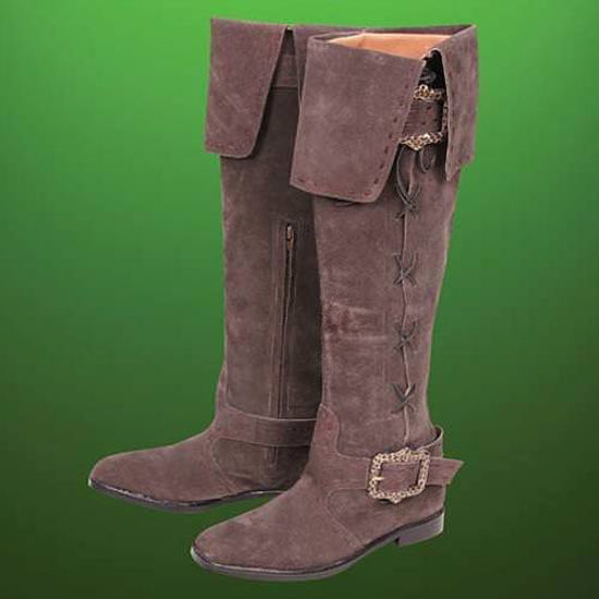Picture of Maid Marion Tall Suede Boots