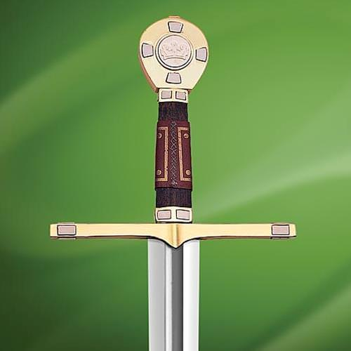 Picture of King Richard Sword w/ Plaque