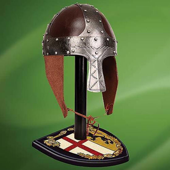 Picture of Men-at-Arms Leather Helmet