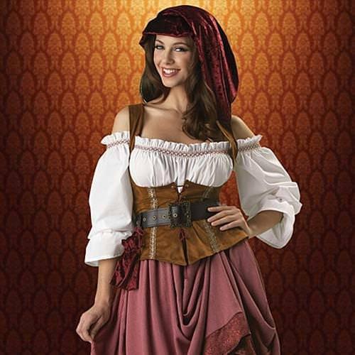 Picture of Renaissance Woman Complete Costume