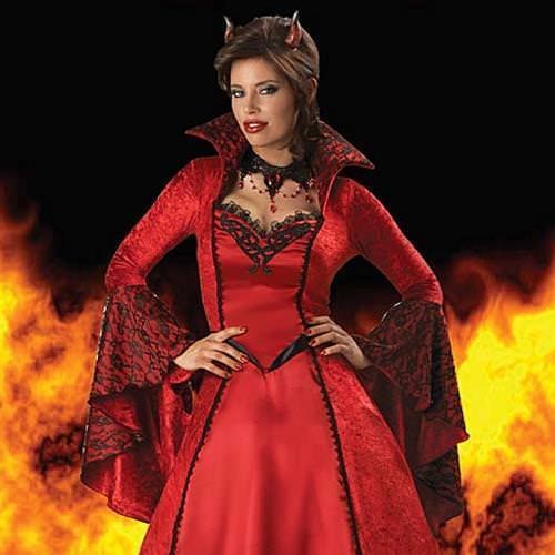 Picture of Devil's Temptress Ladies Complete Costume