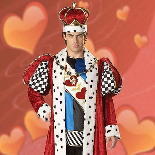 Picture of King of Hearts Complete Costume
