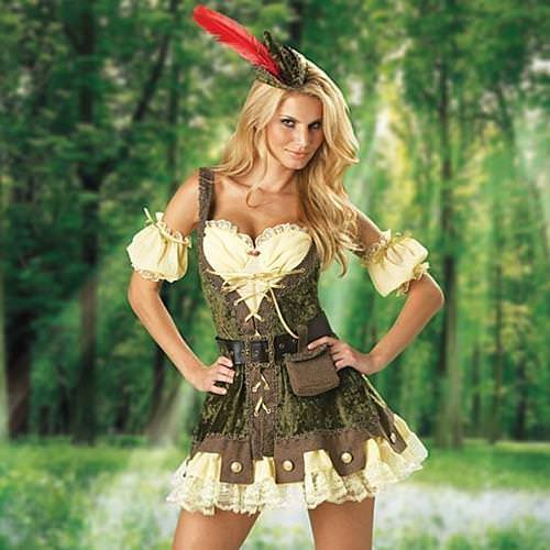 Picture of Racy Robin Hood Ladies Complete Costume