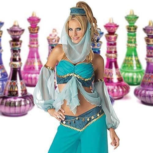 Picture of Harem's Jewel Ladies Complete Costume