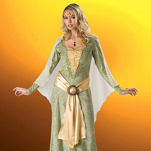 Picture of Medieval Maiden Complete Costume