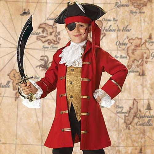 Picture of Pirate Captain Boy's Costume