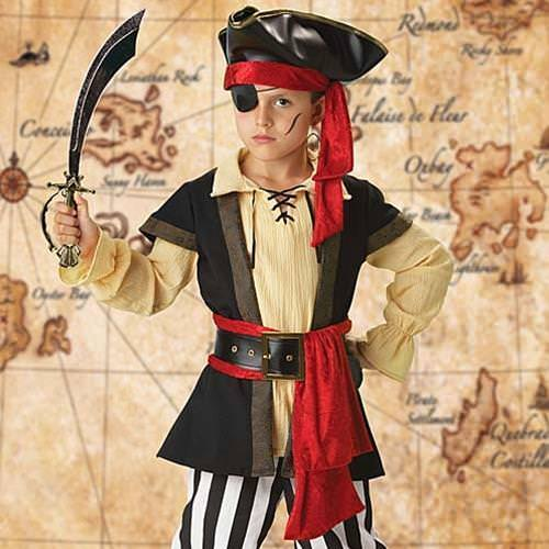 Picture of Pirate Scoundrel Boy's Costume