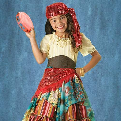 Picture of Fortune Teller Girl's Costume