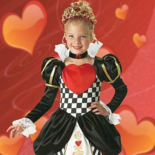 Picture of Queen of Hearts Girl's Costume