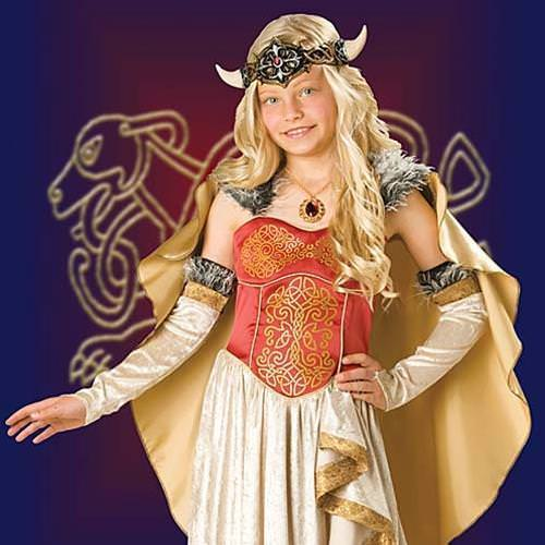 Picture of Viking Princess Girl's Costume