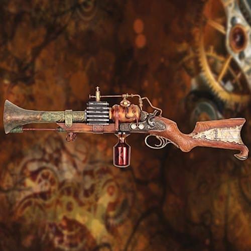 Annialator Mk. II Steampunk Raygun