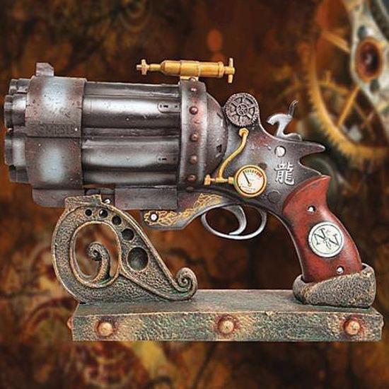 Liberator Mk. III Steampunk Raygun