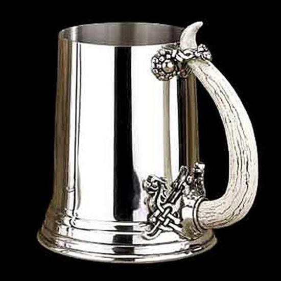 Picture of Viking Horn Pewter Tankard