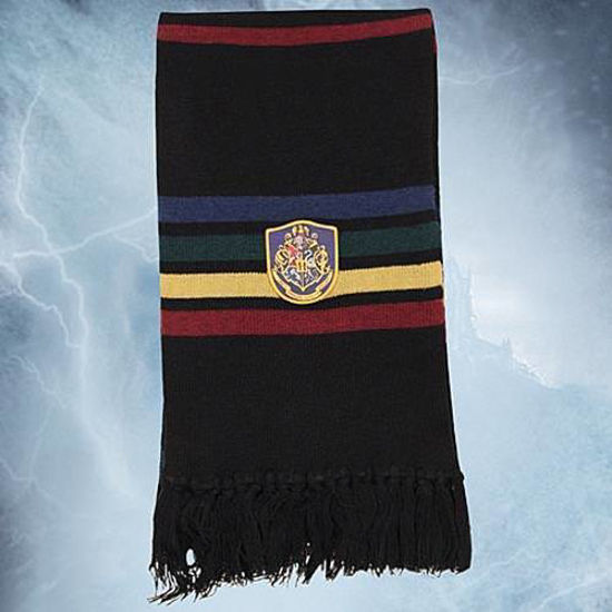 Picture of Hogwarts Black School Scarf