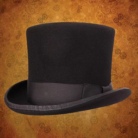 Picture of Victorian Top Hat - Black