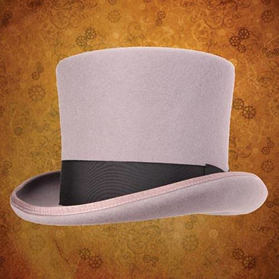 Picture of Victorian Top Hat - Grey