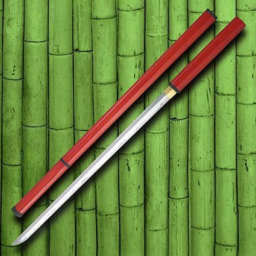 Picture of Zatoichi Stick Sword, Red Saya