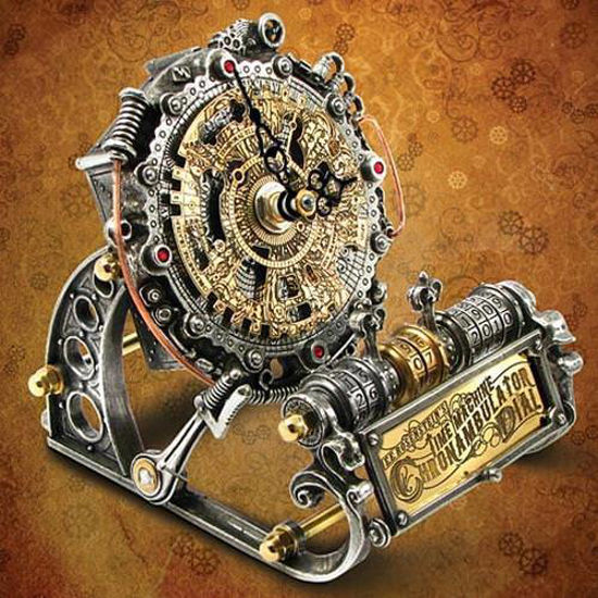 Picture of Time Machine Chronambulator Dial Clock