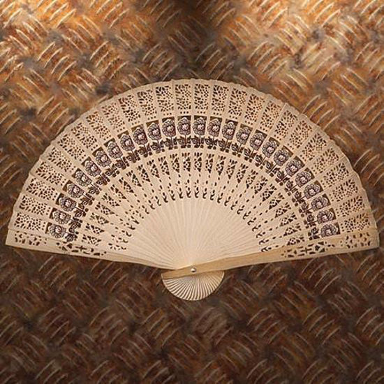 Picture of Sandalwood Hand Fan