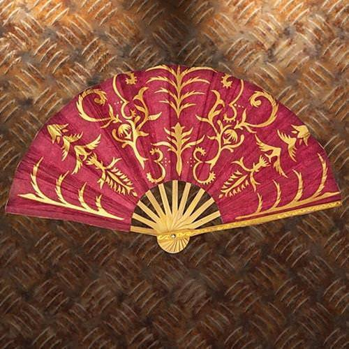 Picture of Gilded Paper Hand Fan