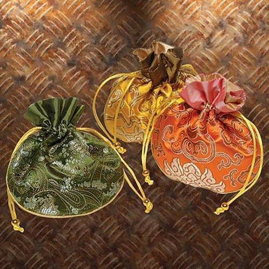 Picture of Kimono Silk Drawstring Pouch