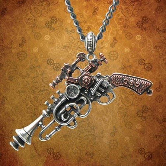 "Picture of ""The Duelist"" Cantosonic Wave Gun Pendant"