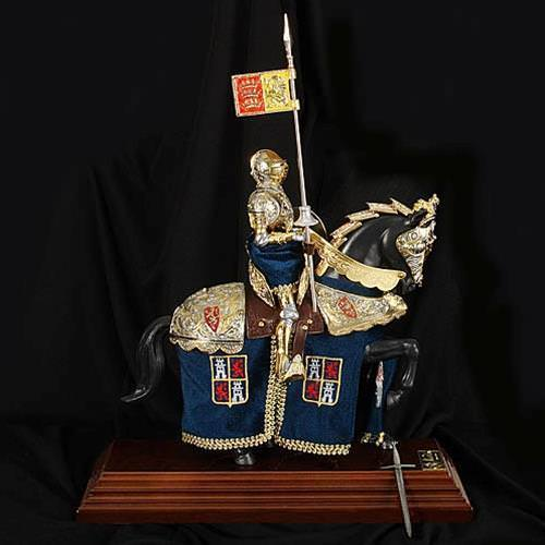 Picture of Spaniard Knight on Horseback Statue