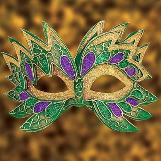 Picture of Venetian Green Man Mask