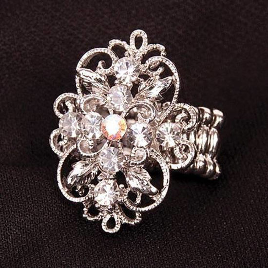 Picture of Bejeweled Adjustable Ring