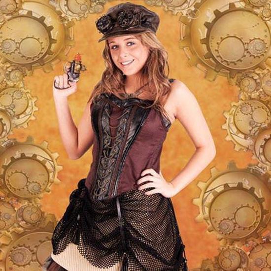 Ladies Steampunk Engineer Skirt