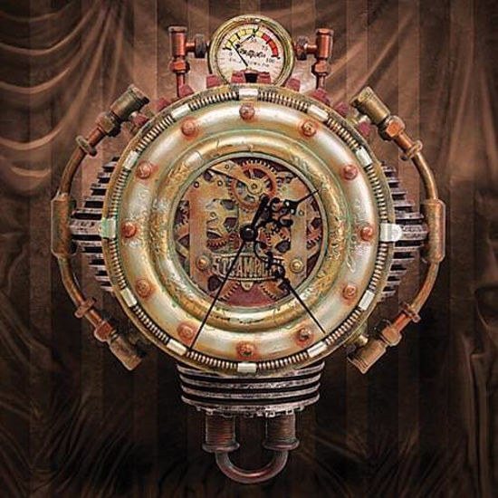Picture of Steampunk Wall Clock