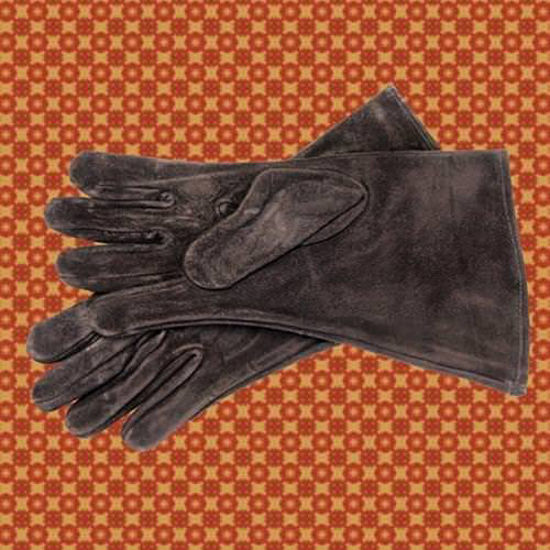 Picture of Suede Gauntlets, Black