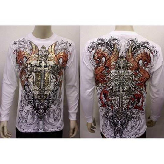 Picture of Dragon Cross Long Sleeve T-Shirt