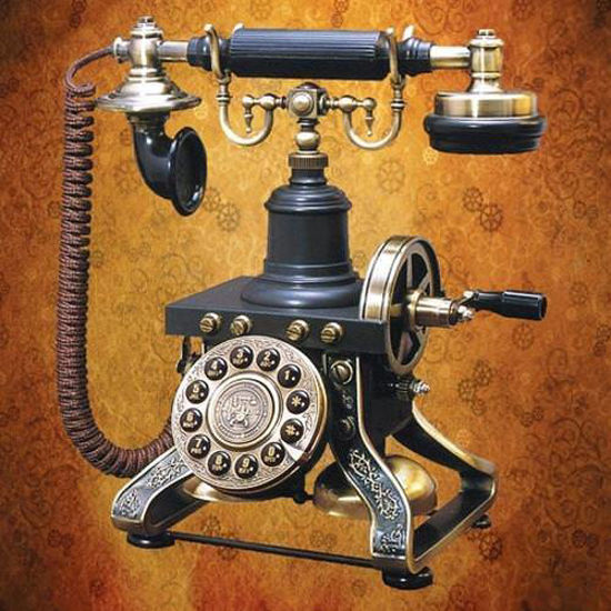 Picture of Steampunk Telephone