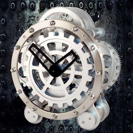 Picture of The Steampunk Gear Mantle Clock