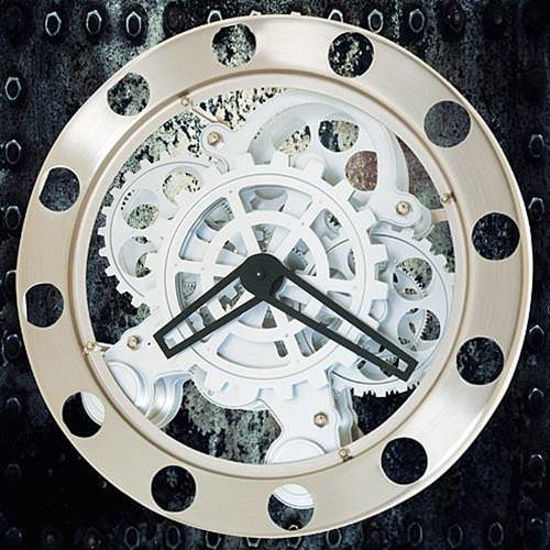 Picture of The Steampunk Gear Wall Clock