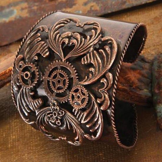 Picture of Antique Copper Steampunk Cuff