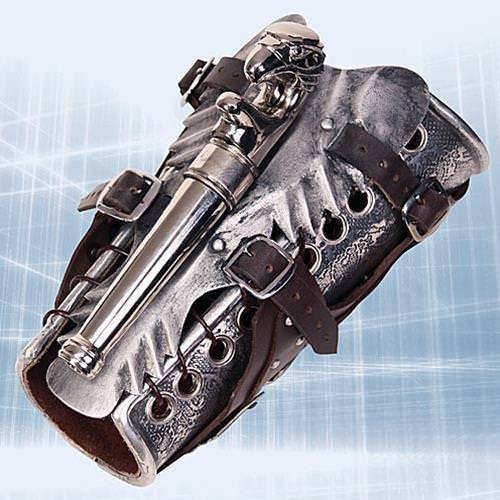 Picture of Armored Vambrace with Gun